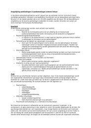 Vergelijking aanbiedingen in aanbestedingen externe ... - Pianoo