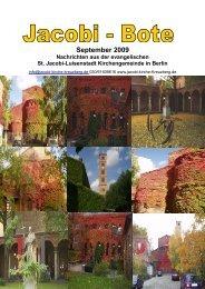 September 2009 - Jacobi-Kirche Kreuzberg