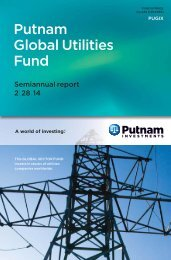 Semiannual Fund Report - Putnam Investments