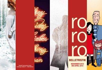 Belletristik - Rowohlt Theaterverlag