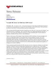 Download News Release (Pdf) - Buhler Industries Inc.