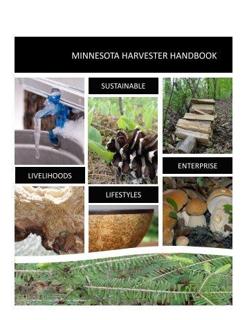 minnesota harvester handbook - My Minnesota Woods - University ...