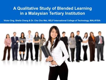The Blended Learning Experience in Malaysia - StudyNet