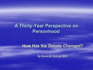 A Thirty-Year Perspective on Personhood