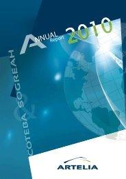 30 ARTELIA | Annual report 2010