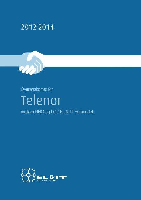 Telenor-overenskomsten 2012-2014 - El og it forbundet
