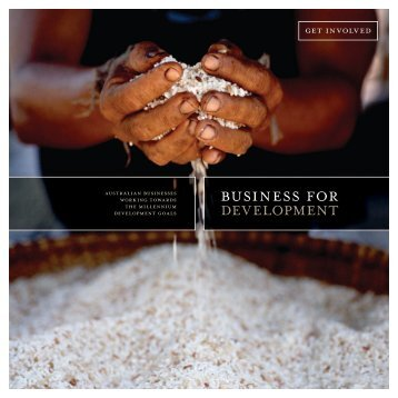 Business for Development Booklet - AusAID