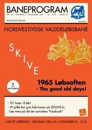 7. nOVEmBER 2011 - Skive Trav