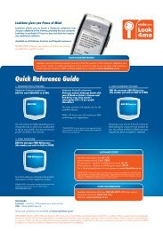 View quick reference guide - Look4help