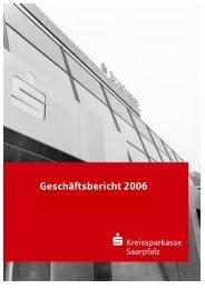 ORGANE DER SPARKASSE - KSK Kreissparkasse Saarpfalz