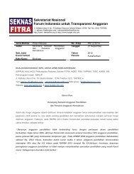 445 kB - Seknas Fitra
