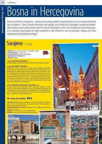 Sarajevo ∙ 2-3 dni - Kompas