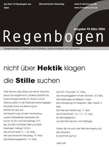 Regenbogen März 2006 - St. Heinrich