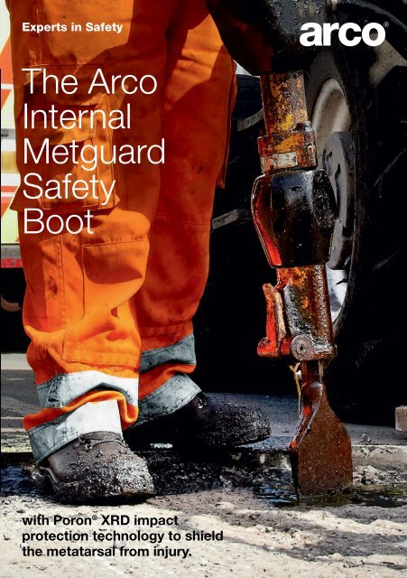 The Arco Internal Metguard Safety Boot