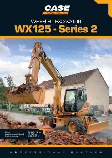 WX125 - Series 2 - CASE CE