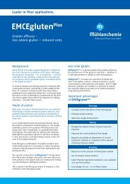 English (899 KB) - Mühlenchemie GmbH & Co. KG