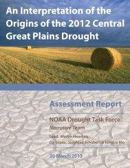 An Interpretation of the Origins of the 2012 ... - US Drought Portal