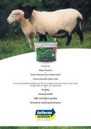 english a4 leaflet sweetlics sheep:Layout 1 - Inform Nutrition