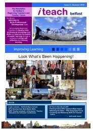 i-teach Issue #5 - Belfast Education & Library Board