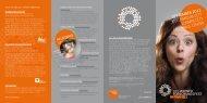 Folder zum Forschungsfest On Tour 2011 - ZIT