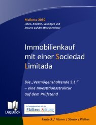 Immobilienkauf mit einer Sociedad Limitada - Diario de Mallorca