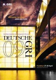Frankfurt 27-28 April - Global Real Estate Institute