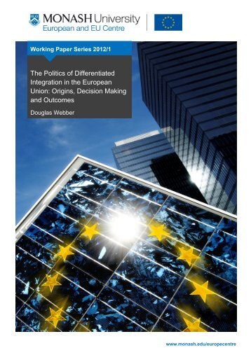 The Politics of Differentiated Integration in the European Union ...