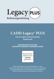 CADD-Legacy® PLUS - internetMED