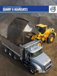 QUARRY & AGGREGATES - Volvo Construction Equipment