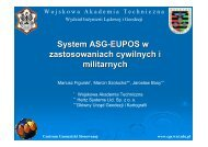 System ASG-EUPOS w zastosowaniach cywilnych i militarnych