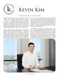 Kevin Kim - Executive Agent Magazine - Page 6