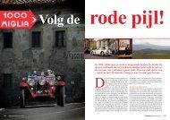 De Mille Miglia moet je een keer meegemaakt ... - Corsa Media