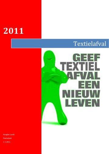 Textielafval - Webklik