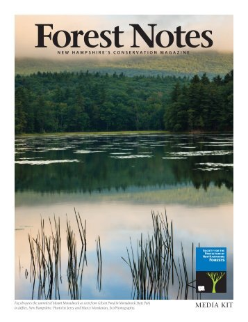 information. - Society for the Protection of New Hampshire Forests