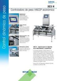 Control dinámico de peso - METTLER TOLEDO