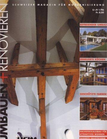 Umbau und Renovieren - Müller Architekten AG