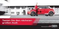 Testen Sie den nächsten großen Audi. - A1talk.de