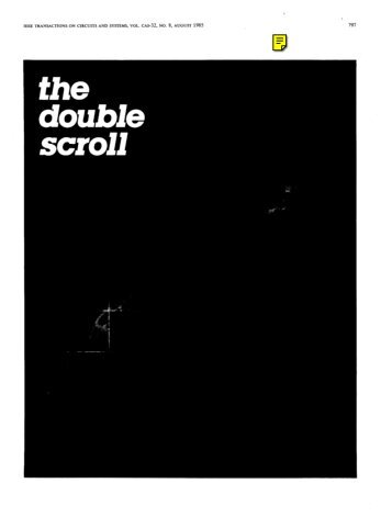 The Double Scroll