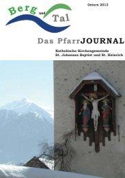 Pfarrbrief Ostern 2013 - kplw.de