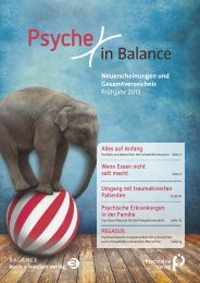 Psyche in Balance - Psychiatrie Verlag