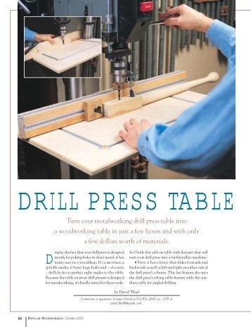 Become A Better Borer Popular Woodworking Magazine
