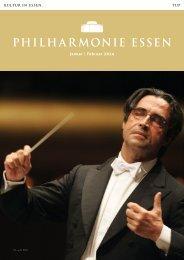 Januar | Februar 2014 - Philharmonie Essen