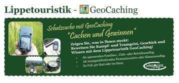 Lippetouristik - GeoCaching