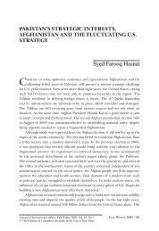 Syed Farooq Hasnat - Journal of International Affairs - Columbia ...