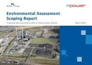Environmental Assessment Scoping Report - Npower