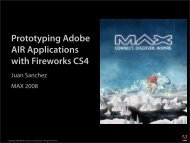 Prototyping Adobe AIR Applications with Fireworks CS4 - ScaleNine