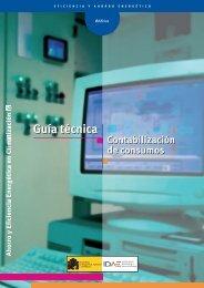 Guía técnica de contabilización de consumos