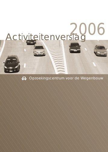 Activiteitenverslag - CRR