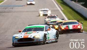 Race Car For Sale - Vantage GTE - Aston Martin