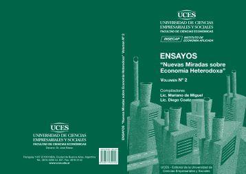 Nuevas Miradas sobre Economía Heterodoxa - UCES